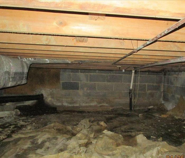 CRAWLSPACE DAMAGE HENRICO, NC After